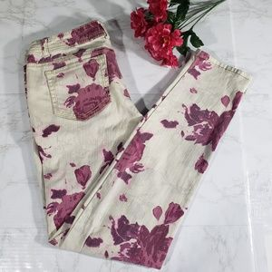 Mossimo Supply Co Floral Skinny Jeans 11